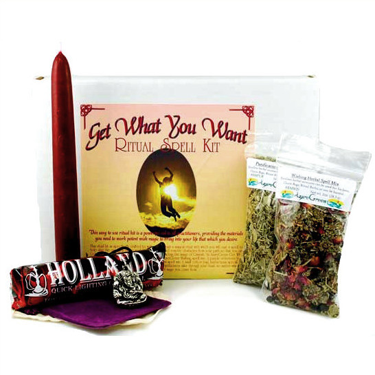 Get What You Want Ritual Spell Kit